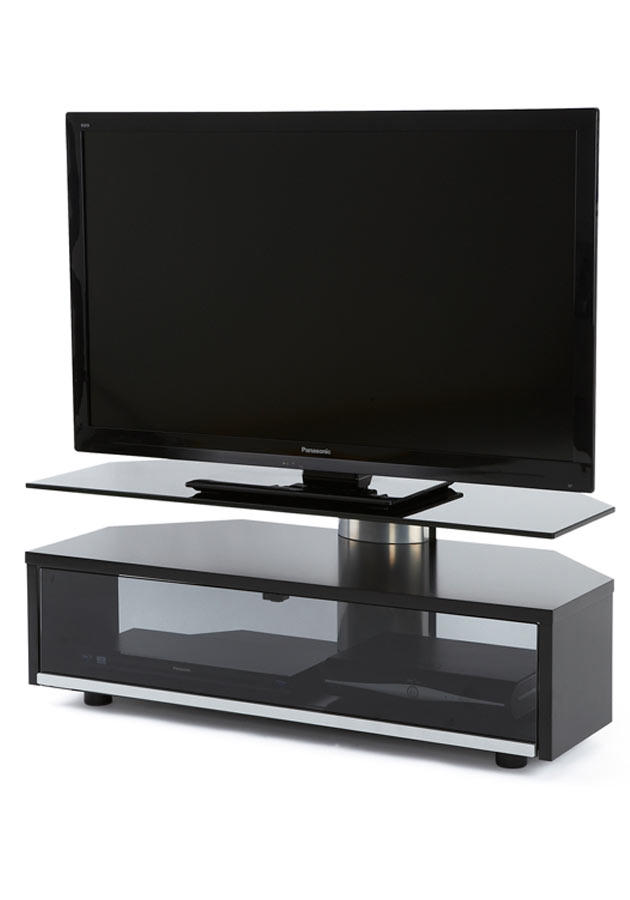 Off The Wall Duo 1000 TV Cabinet Stand Black