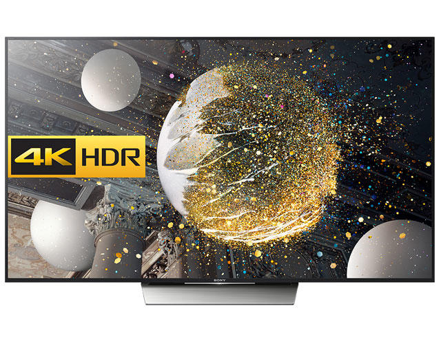 "Sony KD75XD8505BU 75"" 4K HDR Ultra HD LED TV"