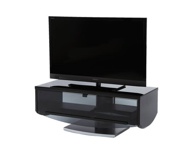 Off The Wall ECLIPSE 1000 BLACK TV STAND