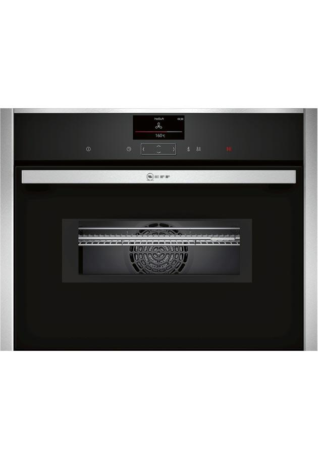 Neff C17MS32N0B Built-In Compact Oven with Microwave
