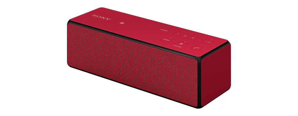 Sony SRS-X33 Red Portable Wireless Bass Speaker with Bluetooth