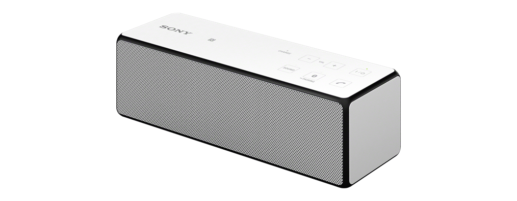 Sony SRS-X33 White Portable Wireless Bass Speaker with Bluetooth