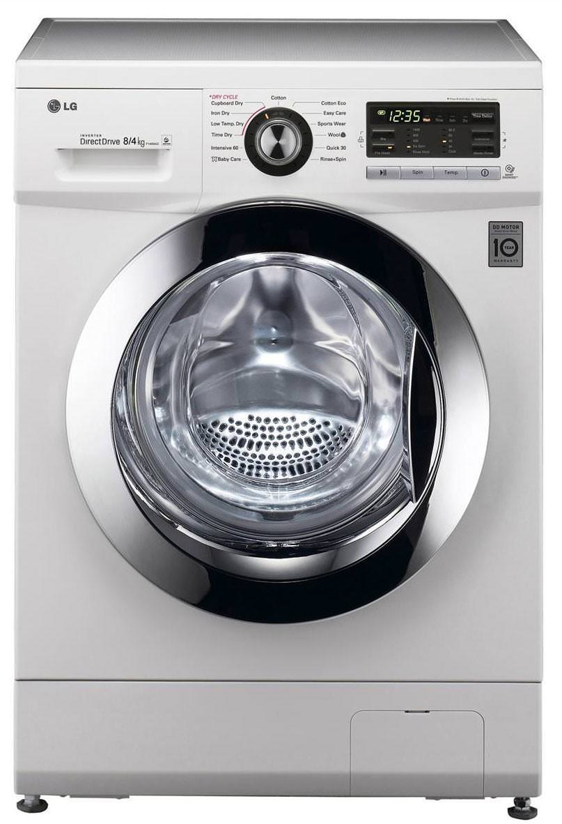 LG F1489AD 8Kg 1400 Spin Washer Dryer