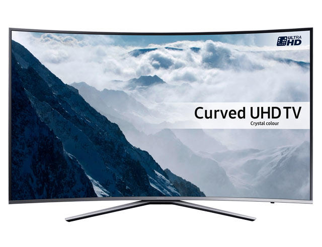 "Samsung UE49KU6500 49"" 4K HDR Ultra HD Curved UHD TV"