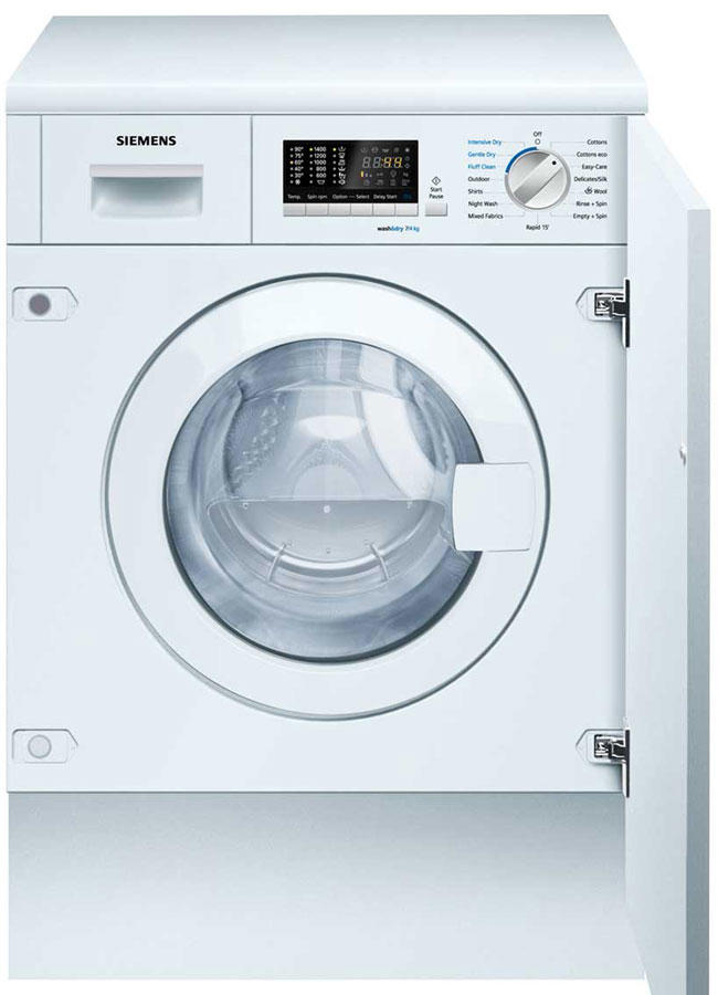 Siemens WK14D541GB 7Kg 1400 Spin Integrated Washer Dryer