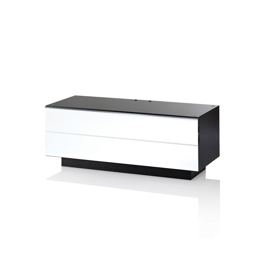 UKCF GS110 ULTIMATE 1100MM WHITE TV STAND