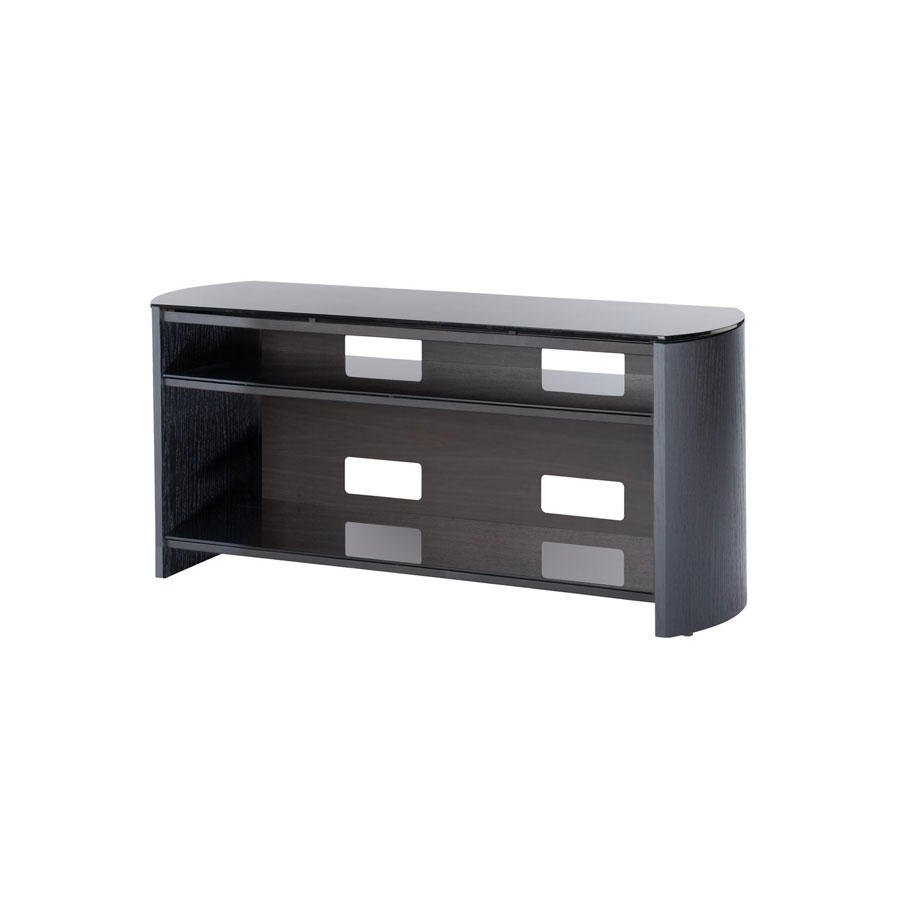 Alphason FW1100-B BLACK FINEWOODS TV STAND