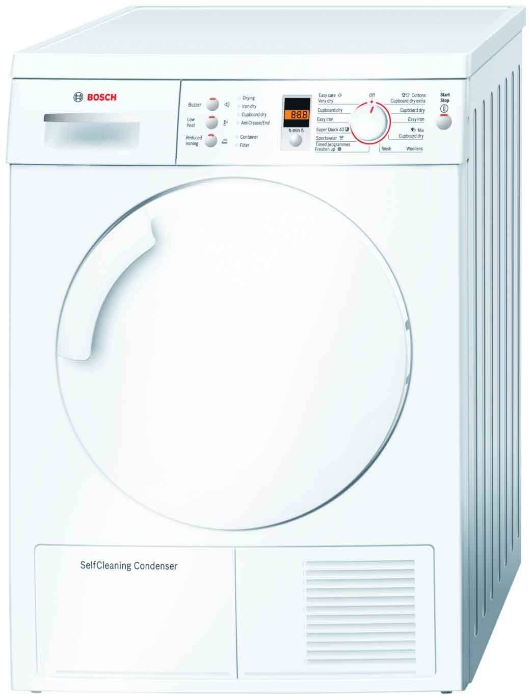Bosch WTW84360GB 7 Kg Freestanding Condenser Tumble Dryer