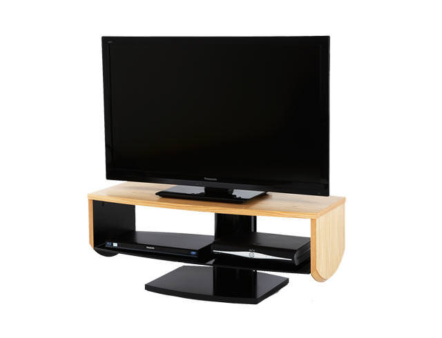 Off The Wall HZN1000 TV Cabinet Stand - Oak