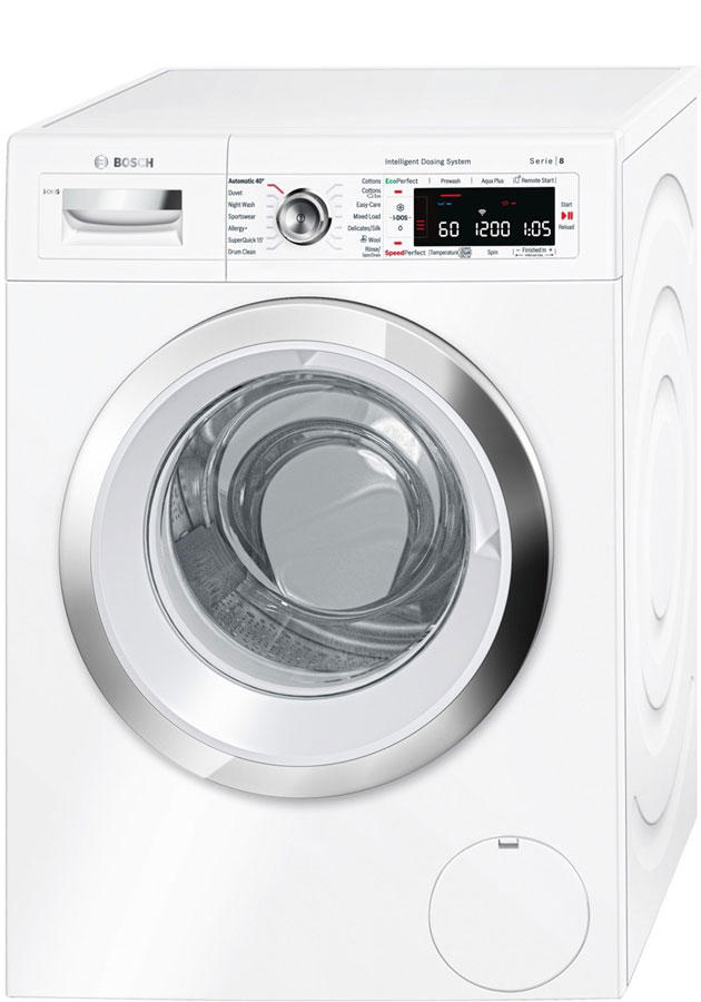 Bosch WAWH8660GB 9Kg 1400 Spin Washing Machine Home Connect