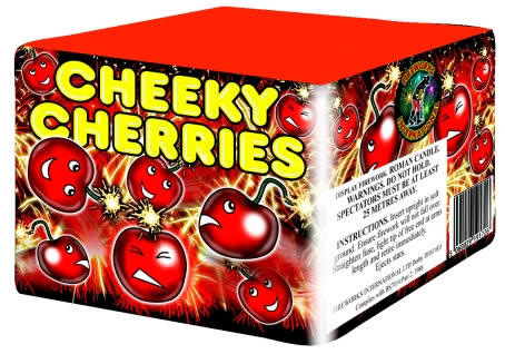 25-Shot Cheeky Cherries