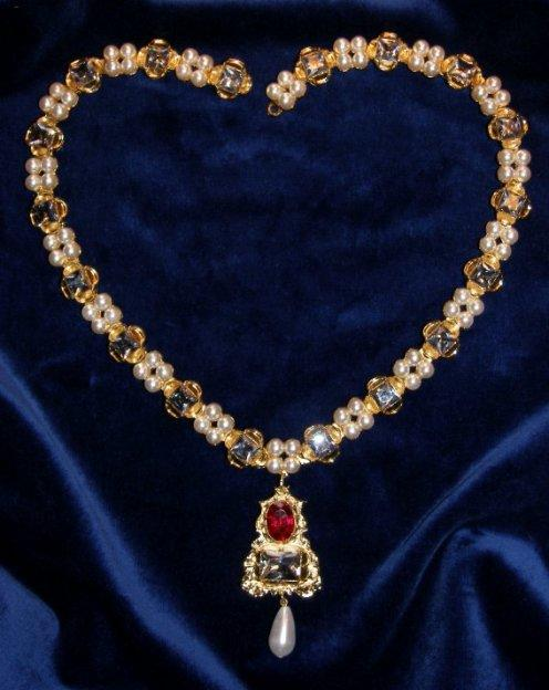 jane seymour diamond necklace