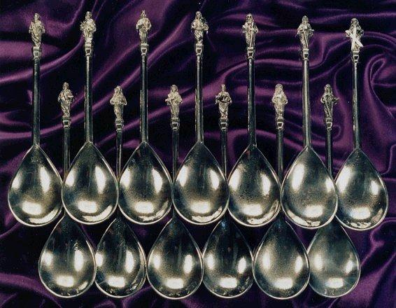 apostle spoons complete set