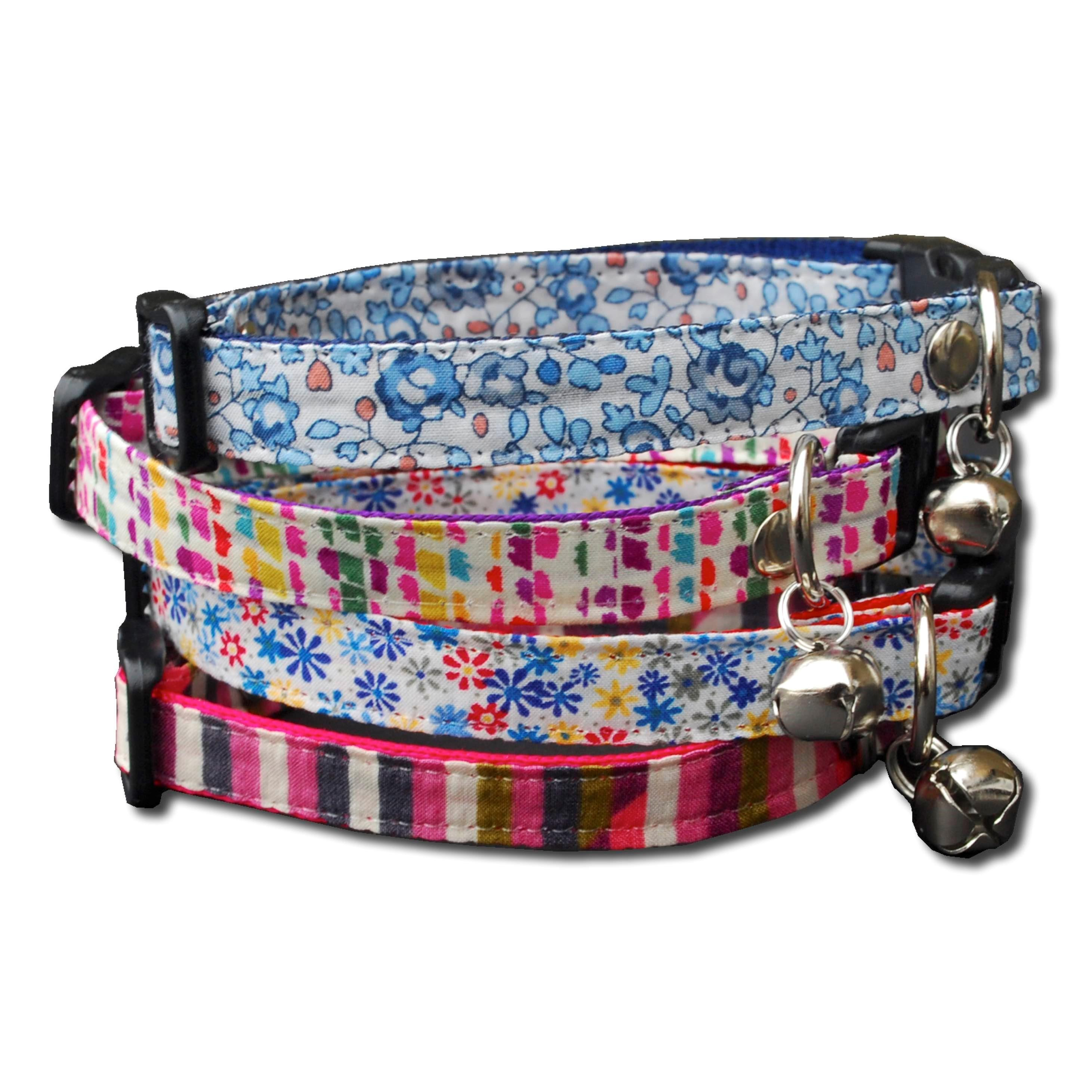Cat Collars Liberty Prints Cat Collars With A Safety