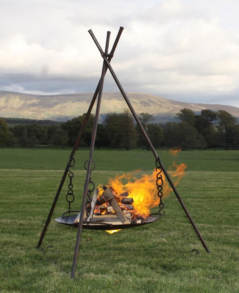 Fire Brazier in use