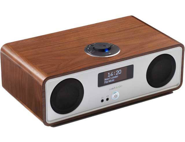 Image of R2 Mk3 DAB, WiFi, Bluetooth Music System - Walnut
