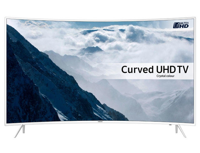 "Samsung UE43KU6510 43"" 4K HDR Ultra HD Curved UHD TV"