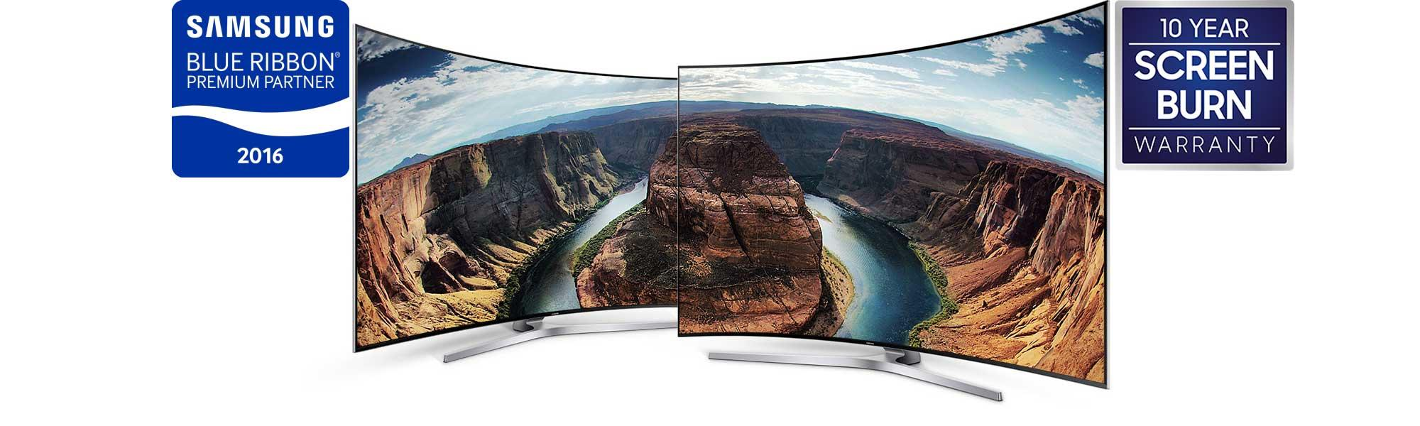 "Samsung UE65KS9500 65"" 4K HDR Ultra HD Curved Quantum Dot TV"