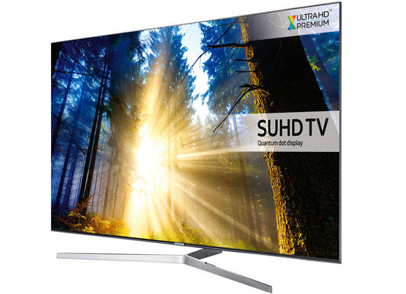 "Samsung UE75KS8000 75"" 4K HDR Ultra HD Quantum Dot TV"