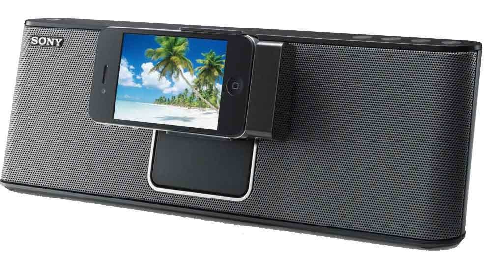 Sony RDP-M15IP IPHONE / IPOD SPEAKER DOCK