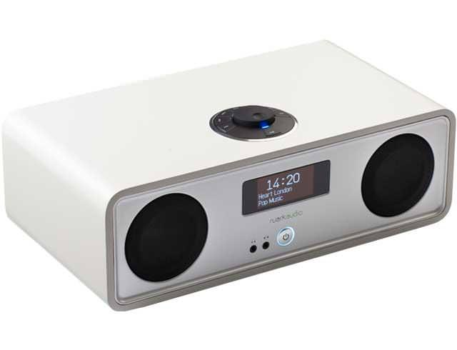 Image of R2 Mk3 DAB, WiFi, Bluetooth Music System - White