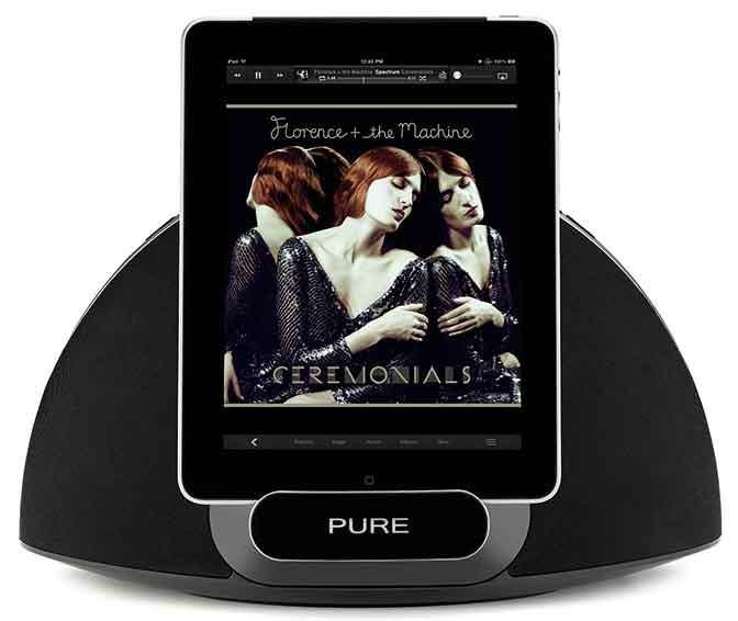 Pure CONTOUR 200I AIR BLACK AIRPLAY DOCK