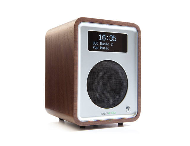 Image of R1 MK3 DAB Bluetooth Digital Radio Walnut