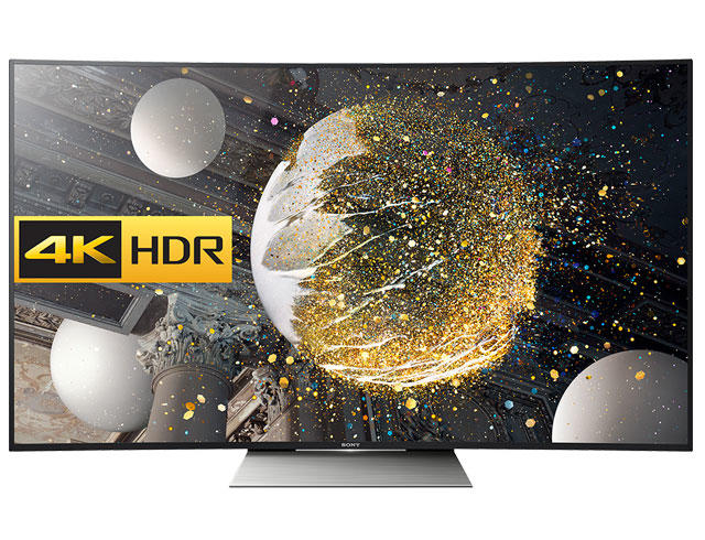 "Sony KD55SD8505BU 55"" Curved 4K HDR Ultra HD LED TV"