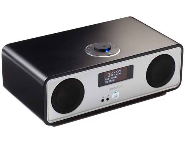 Image of R2 Mk3 DAB, WiFi, Bluetooth Music System - Black
