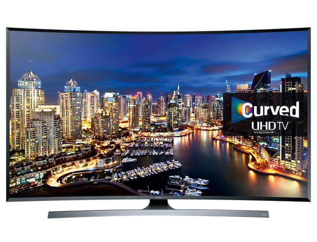 "Samsung UE55JU7500 55"" 4K Ultra HD Curved TV"