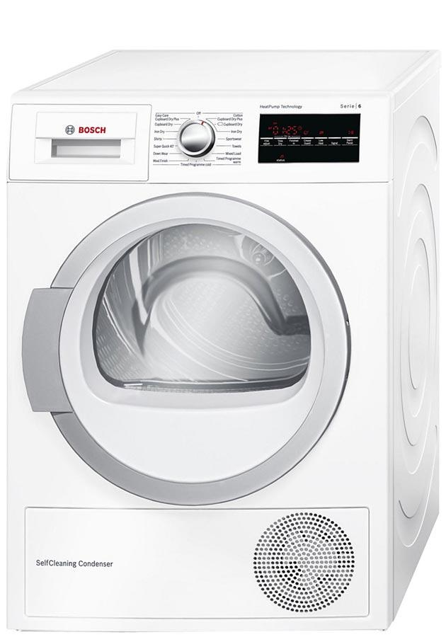 Bosch WTW85491GB 8Kg Heat Pump Condenser Tumble Dryer