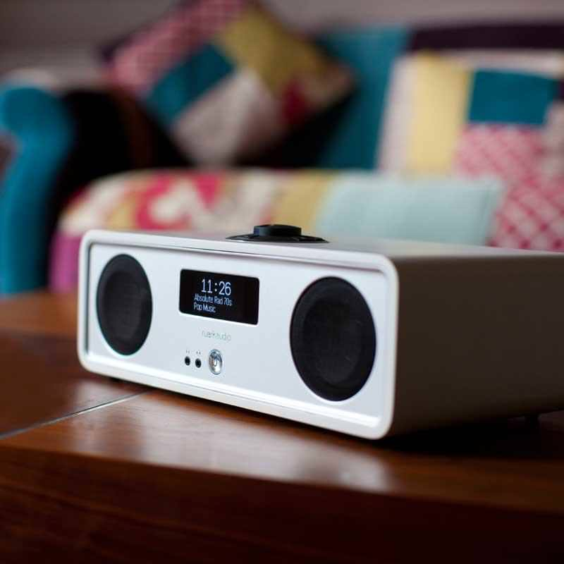 Ruark Audio R2 Mk3 DAB, WiFi, Bluetooth Music System - White