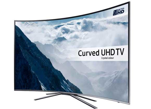 "Samsung UE65KU6500 65"" 4K HDR Ultra HD Curved UHD TV"