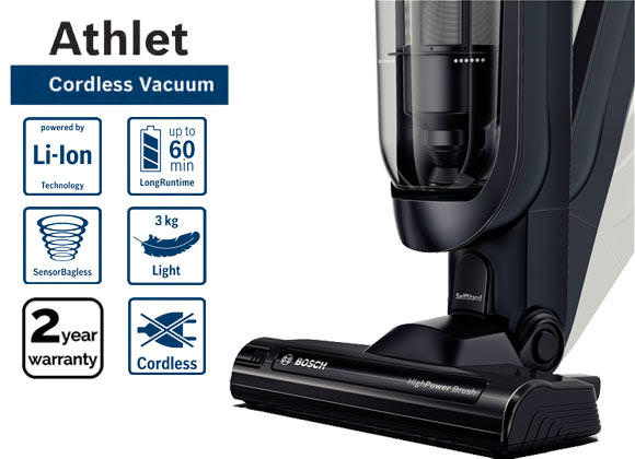 Bosch BCH61840GB 18V CORDLESS UPRIGHT VACUUM CLEANER