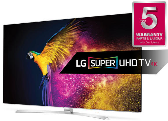 "LG 55UH950V 55"" Super 4K HDR Ultra HD LED TV"