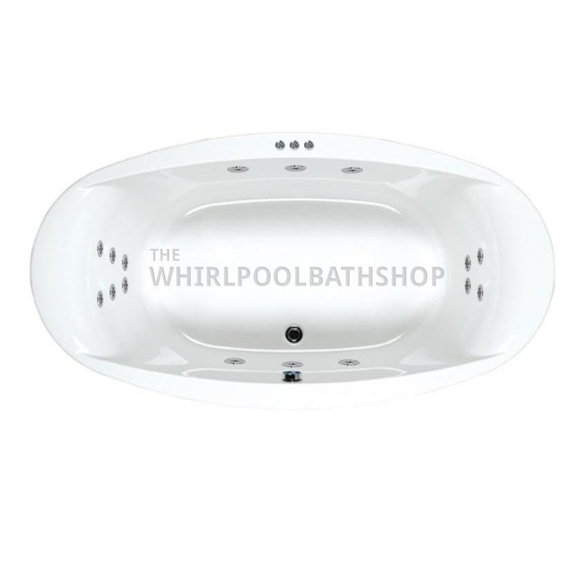 Large Carron Celsius Oval Whirlpool Bath 57 0021