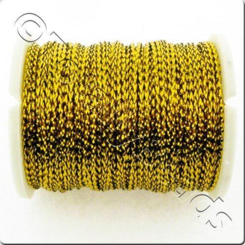 Metallic Thread Gold - 0.7mm - 10m Spool