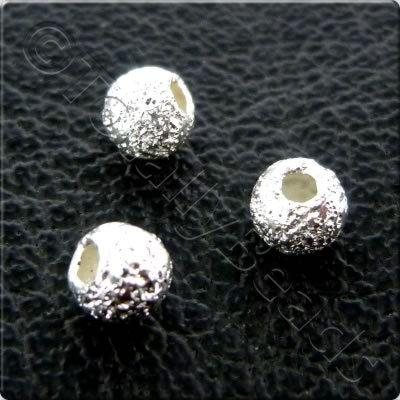 Sterling Silver Stardust 3mm - 12pcs