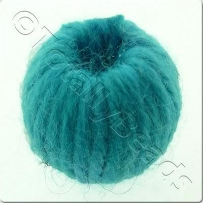 Wool Bead 22mm - Turquoise