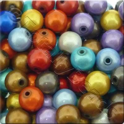 Miracle Beads - 10mm Round Mixed Colour