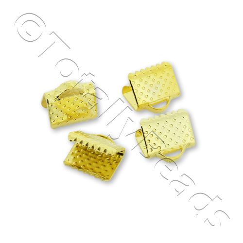 Crimp Connector 8mm - Gold Plated