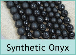 Synthetic Onyx Beads