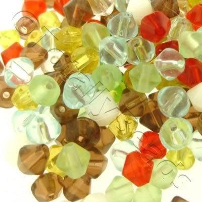 Bead Mix - 4mm Bicone