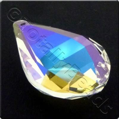 Crystal Pendant - Drop 38x24mm - Clear AB