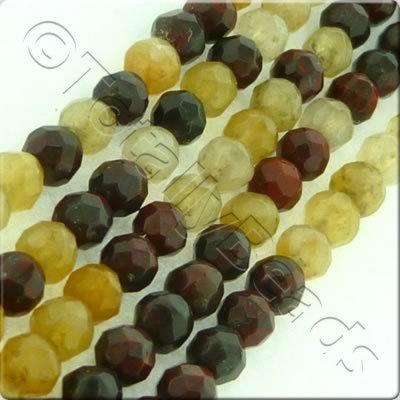 Mookaite 3mm Facet Round