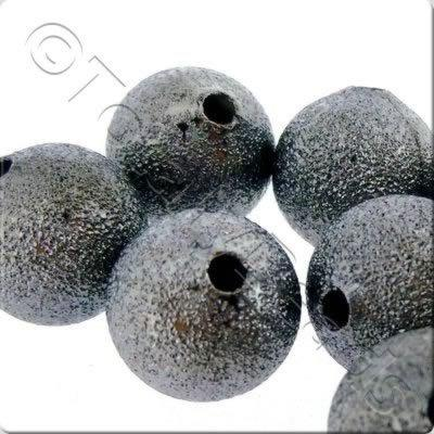 Stardust Beads - Black - 6mm
