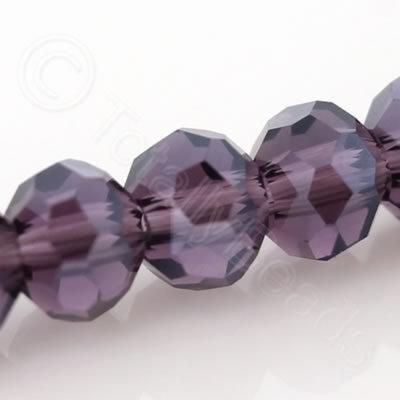 Crystal Round 4mm - Purple Shimmer