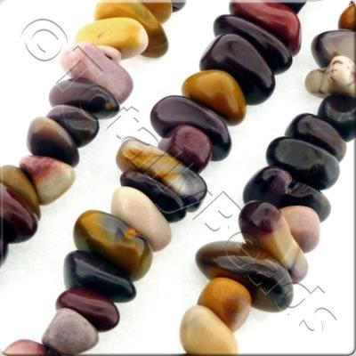 "Gemstone Nuggets - Mookaite 16"" String"