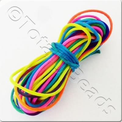 Rattail 1.5mm - Multicolour Bright - 10m Length