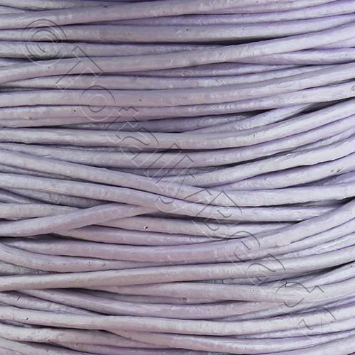 Leather Cord 1.5mm - Lilac 1m length